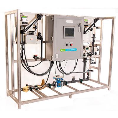 Συσκευή παραγωγής διοξειδίου του χλωρίου
